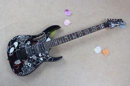 New Electric Guitar Brands Australia - Best price Top quality Brand new arrival guitars JEM 77 FP2 series Dimarzio pickups Electric guitar