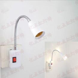 $enCountryForm.capitalKeyWord Australia - E27 Screw Socket Adapter with Switch Plug Socket Base for Energy Saving LED Bulbs Hose Universal Lamp Holder Converters E27 for Night Light