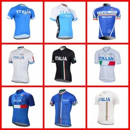 Quick Dry Shirts For Men Australia - ITALY Cycling Short Sleeves jersey Men's Breathable Quick Dry Biking Shirts For Outdoor Sports summer Comfortable N03--1