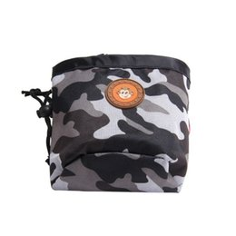 dog pack medium NZ - Dog Outdoor Training Pouch Waist Back Food Bag Dogs Snack Bag Pack Portable Dog Training Treat Bags Pet Oxford Camouflage
