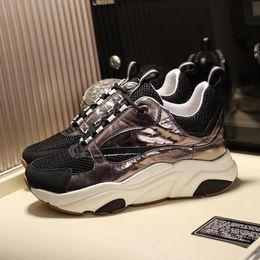 $enCountryForm.capitalKeyWord Australia - Luxury Men Shoes Casual Chaussures pour hommes Designer Fashion Shoes for Men Lace-Up Zapatos de hombre B22 Sneaker In Technical Knit Hot