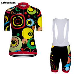Discount womens bicycles SPTGRVO LairschDan Womens Summer cycling jersey Set Quality Mountain bike clothes Ropa ciclismo short bicycle wear Short