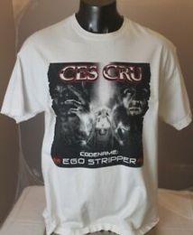 $enCountryForm.capitalKeyWord Australia - Ces Cru Codename The Ego Stripper T-Shirt Official Rare XL White Hip Hop
