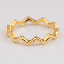 8fc68a8b1 Timeless rings online shopping - Authentic Sterling Silver Ring Shine Timeless  Zig Zag Rings For Women