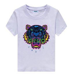 $enCountryForm.capitalKeyWord UK - New FashionKENZO Children's Baby Boys and Girls Clothing Tiger Head Tops Short Sleeve Cotton T-Shirt Casual Summer T-Shirt Clothes