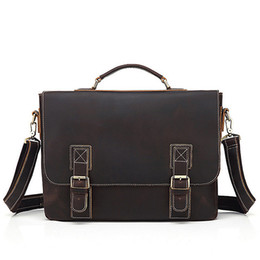 2cf2590dd Bag Briefcase locks online shopping - Men s briefcase Cowhide leather  backpack more pocket Top quality