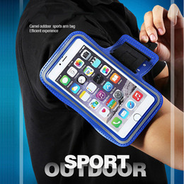 $enCountryForm.capitalKeyWord Australia - Phone arm bag holder Waterproof Sports Running Workout Gym Arm Band Case pocket For iPhone XS Max plus Samsung Pouch Belt Cover Bag