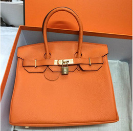 Wholesale 35CM CM CM Famous Brand H Totes bags women Genuine leather Bags Fashion lady Handbag Factory In Stock Real Image22