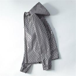 Wholesale fashion trench coats resale online - mens ss luxury clothing Men s designer jacket trench coat Men s Jacket Designer Jackets