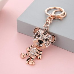 Cute keyChains for bags online shopping - Fashion Shining Animal Keychain Bag Charm Pendant Keys Holder Keyring Jewelry For Women Girl Gift Cute Keychain Jewelry New