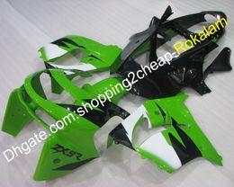 $enCountryForm.capitalKeyWord Australia - ZX 9R 98 99 Sportbike Fairing For Kawasaki Ninja ZX9R 1998 1999 ZX-9R Green Black White Motorcycle Fairings Aftermarket Kit