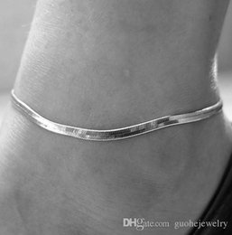 Anklet Silver Chains Australia - Thin metal chain temperament scales anklet simple Silver gold plated anklet fashion jewelry for women free shipping