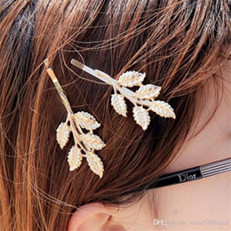 $enCountryForm.capitalKeyWord NZ - Fashionable female headdress alloy leaf starfish hair clip side clipping horsetail hair clip jewelry hairpin clipping girl.