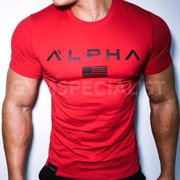 $enCountryForm.capitalKeyWord Australia - Red Black Men T-shirt Short Sleeves White gray black Undershirt Male Solid Cotton Mens Tee Summer Jersey Brand Clothing Homme