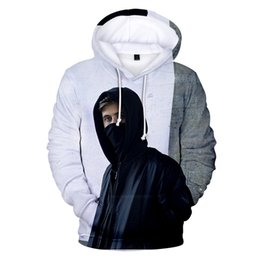 89869f048 Fashion alan walker Hoodies 3D Singer popular Sweatshirt Hip hop Print boy  girl alan walker casual Harajuku hoodie