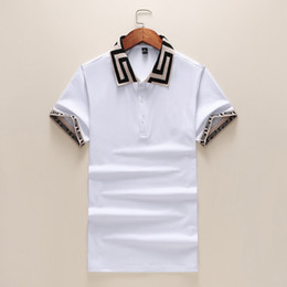 $enCountryForm.capitalKeyWord Australia - 2019 Summer Designer Men's & Women's Polo Shirts Brand Casual Luxury Print High Quality Top Fashion Men Clothing Cotton Blend 4 Colors M-3XL