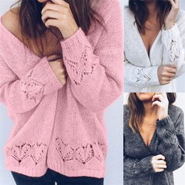 $enCountryForm.capitalKeyWord NZ - Women Crochet Kimono Hollow Knit Tops Knitwear Coat Outwear Cardigan Cable Knit Bobble Bubble Sleeve Oversized Longline Cardigan