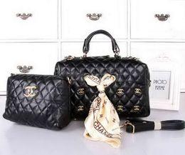 $enCountryForm.capitalKeyWord Australia - Genuine Leather Quality Women Bags Luxu Brand Designer Fashion bags Lady Handbags Purse Shoulder Bag for women Tote Three-piece suit with