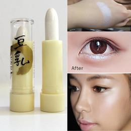 Face Glow Cream Australia - 5 Colors High Light Women Cosmetics New Face Contouring Highlighter Gittle Shimmer Eyeshadow Makeup Bronzer Stick Glow Makeup