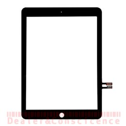 apple ipad touch tablet NZ - 30PCS DHL Free Digitizer Touch Screen For Apple iPad 9.7 (2018 Version) A1893 A1954 Has Sensor Front Glass Lens Panel Repair For iPad 6