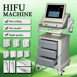 Face Lift For Wrinkles Australia - Medical Grade HIFU High Intensity Focused Ultrasound Hifu Face Lift Machine Wrinkle Removal With 5 Heads For Face And Body