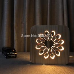 $enCountryForm.capitalKeyWord Australia - Creative cartoon flower hollow design night lamp warm white USB desk lamp as a holiday gift or home Children Kids Birthday Christmas Gifts