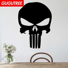 $enCountryForm.capitalKeyWord Australia - Decorate Home skull cartoon art wall sticker decoration Decals mural painting Removable Decor Wallpaper G-2097