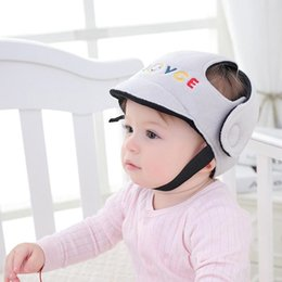head protection gear NZ - Anti-collision Baby Safety & Gear Safety Infant Toddler Protection Soft Hat Baby Protective Helmet Anti-falling Head Protective Cap for Walk