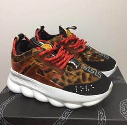 Best White Bags Australia - 2019 Chain Rmens Casual Chain Reaction Men Women Designer casual Shoes Best Quality Fashion Trainers Sneakers Casual Shoes With Dust Bag 36-