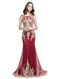 $enCountryForm.capitalKeyWord Australia - Real Image Evening Dresses Long for Women Formal Elegant Lace Prom Dresses New Mermaid Gowns Designer Occasion Dresses
