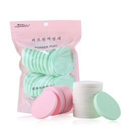 Packing For Cosmetics Australia - 20pcs pack Makeup Sponge Powder Puff Makeup Sponges for Face Soft Beauty Foundation Cosmetic Sponge for Make up Powder Puff