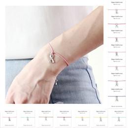 Cancer Hope Charms Australia - Make A Silver Hope Faith Love Ribbon Breast Cancer Survivor Awareness For Women Charm Bracelets