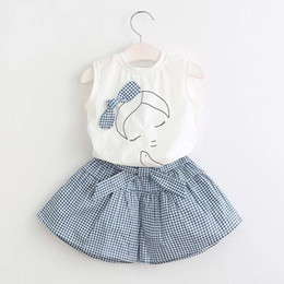 Baby Girl Summer Suits Australia - good quality Baby Girls Clothes Sets Children Clothing Set Summer Fashion Style T-Shirt + Shorts 2Pcs Suit Kids Clothes Suit