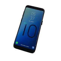 $enCountryForm.capitalKeyWord Australia - Goophone S10 with fingerprint Android Cell phone MTK6580 Quad Core 1+8g show Octa core 4G RAM 128G ROM shown 4G real 3G smartphone DHL free
