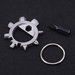12 Gear Australia - Outdoor EDC Gear Multi Tool Octopus Bicycle Tool Repair Tools Screwdriver 12 Function Pocket Tool Free shipping