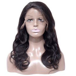 human hair lace front wigs 10-24 inch wig full lace head set real hair lace  wig medium-length curly front hair set b43c78d20