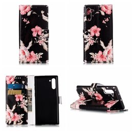 $enCountryForm.capitalKeyWord Australia - Leather Wallet Case For Samsung Note 10 Note10 Pro Iphone 11 5.8 6.1 6.5 2019 Luxury Bling Flower Marble Rock Butterfly Holder Flip Covers