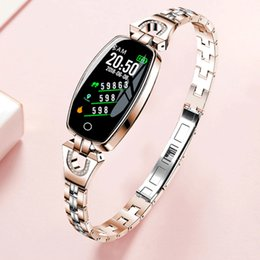 H8 Smart Watch Australia - Ip67 H8 Fashion Smart Watches For Women Heart Rate Blood Pressure Smart Bracelet Fitness Tracker Smart Watch Women Reloj Mujer J190515