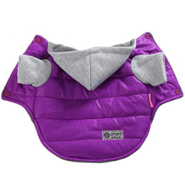 Wholesale warm waterproof hoodies for sale – winter Autumn Winter Pet Clothes For Small Dogs Warm Puppy Pet Coat Jacket Waterproof Dog Hoodies Chihuahua French Bulldog Pug Clothing