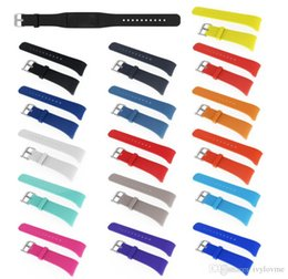 $enCountryForm.capitalKeyWord Australia - High quality Replacement Silicone Watch Band For SAMSUNG GEAR Fit 2 Fit2 SM-R360 Bracelet Wristband Strap