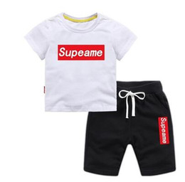 $enCountryForm.capitalKeyWord Australia - Baby Boys And Girls Designer T-shirts And Shorts Suit Brand Tracksuits Kids Clothing Set Hot Sell Fashion Summer Children's Clothing