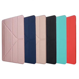 $enCountryForm.capitalKeyWord Australia - For New iPad Pro 11 10.5 9.7 2018 Mini 5 Air 3 2 Foldable Magnetic Smart Cover Matte Cases Cover With Auto Sleep Wake