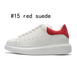 $enCountryForm.capitalKeyWord Australia - 2019 Mens Designer shoes white leather 3M reflective casual for girl women black gold red fashion comfortable flat sports sneaker size 35-44