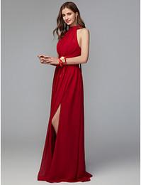 $enCountryForm.capitalKeyWord Australia - Beautiful Prom dress prom tuxedo prom dresses sleeveless leg split backless new style 2019 evening dresses Formal dress