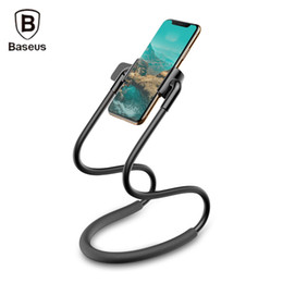 Hands Free Phone Holder Australia - Baseus New Neck-mounted Lazy Bracket Hands-free Phone Holder