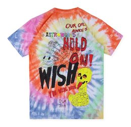 Hand Painting Fashion Brands Australia - 2019 Brand New 100% cotton Men Women sleeve T-shirt high quality Graffiti hand-painted tie-dyed ins short-sleeved T-shirt Men Women T-shir