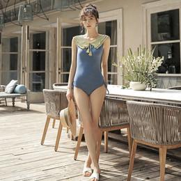 $enCountryForm.capitalKeyWord Australia - Swimwear For Women Swimsuit Woman 2019 One Piece Push Up Beachwear Women's Beach Outings Female Fairy Fan Block Korea Ins Sexy