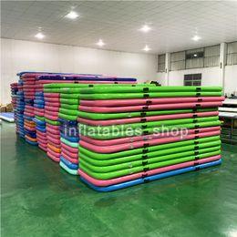 $enCountryForm.capitalKeyWord Australia - Big Discount 400*100*10cm Airtrack inflatable Air Tumbling Air Track Gymnastics Mats Training Board Equipment Floor Free Pump