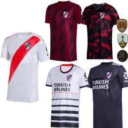 Wholesale football shirt river for sale – custom 2020 River Plate th Anniversary Home rd away red Mens Sanchez Rodrigo Mora camisa Uniforme de futebol football shirts Soccer Jersey