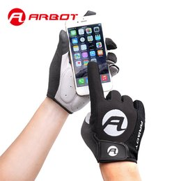 Bicycle Mittens Australia - ARBOT New Women Men Cycling Gloves Full Finger Bicycle Gloves Anti Slip Gel Pad Motorcycle MTB Road Bike Glove Luva mittens C19011401